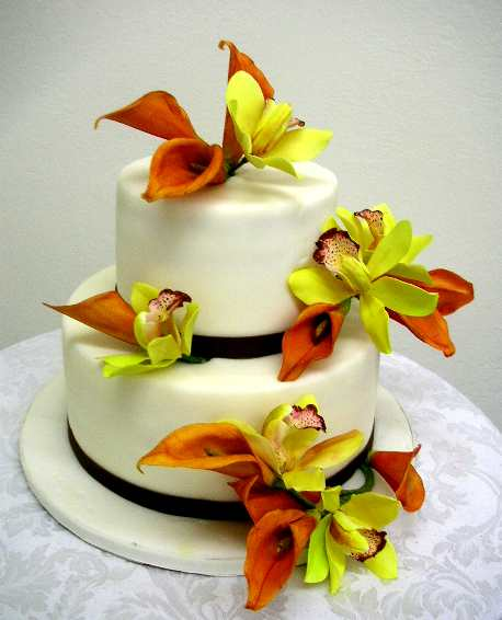 Flower Decorated Cake Real Vs Sugar
