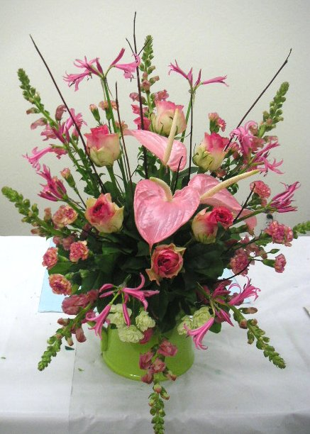 Floral Design Ideas rebecca sherman houston cup winner California Academy